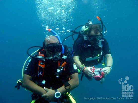 PADI DUP Adventure Dive at Shark Point on Phuket