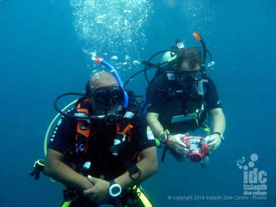 PADI DUP Adventure Dive at Shark Point on Phuket