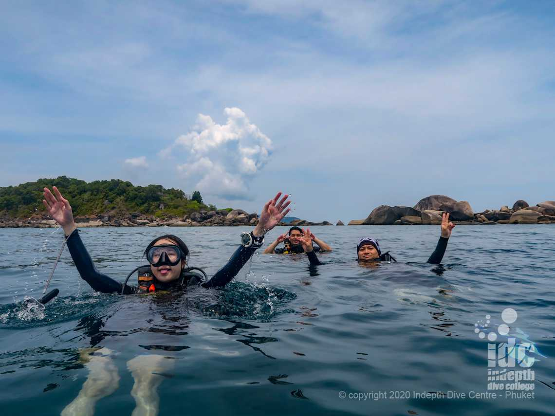 East of Eden is a cool Dive Site to dive on your Similan Liveaboard Safari