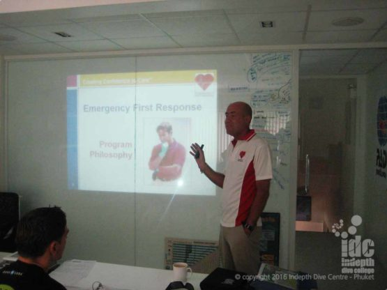Join us for a fun EFR Course on Phuket