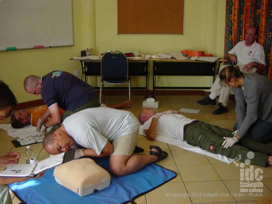 EFR Course in Primary and Secondary Care teachers CPR and 1st Aid