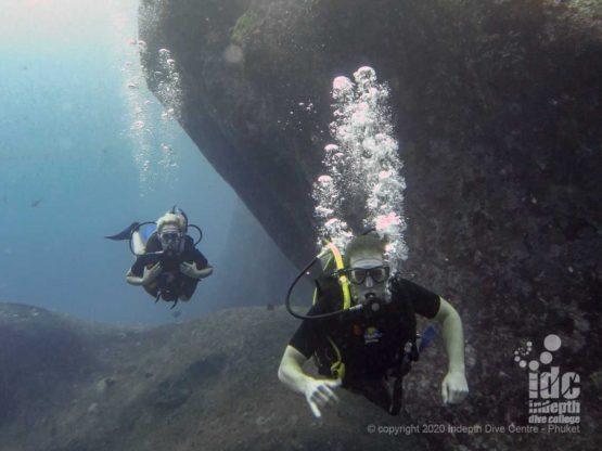 Diving at Elephant Head Rock Similan Islands Top Dive Sites