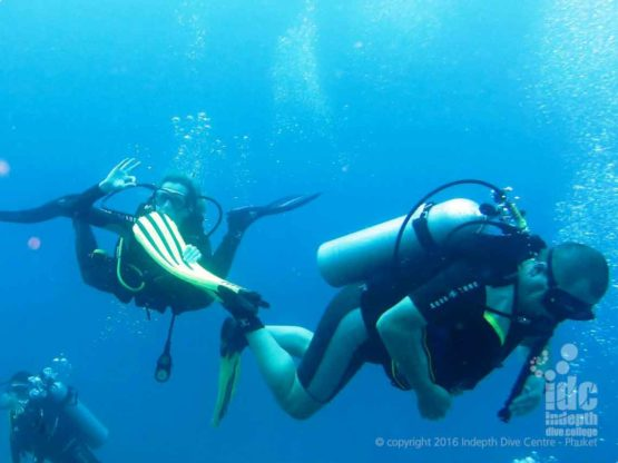 It is fun diving with Indepth at High Rock on a Burma Liveaboard