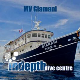 MV Giamani Liveaboard – Indepth Dive Phuket