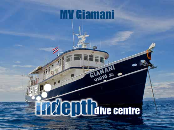 Join Indepth and Giamani Liveaboard for Thailand's best scuba diving