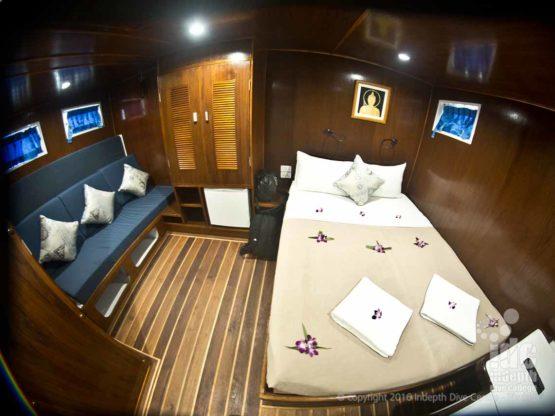 MV GIamani Liveaboard Master Cabin Phuket Thailand