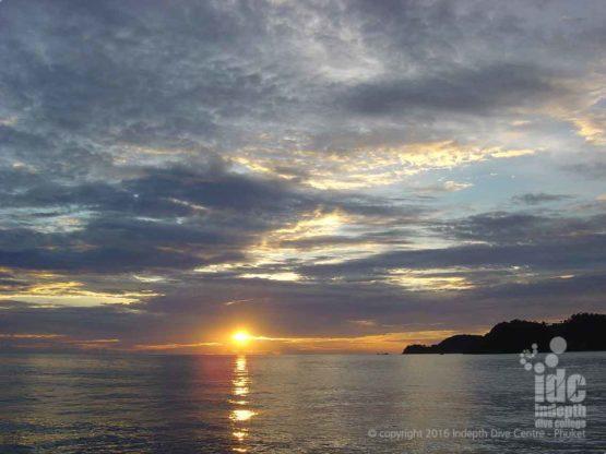 Stunning Hin Muang sun-set