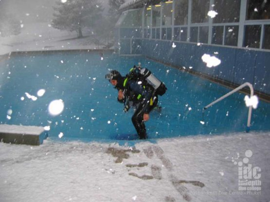 The PADI Ice Diver Course will take you to places very few divers ever venture!