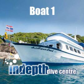 Contact Indepth Dive Centre for your Phuket Dive Trip on Boat 1