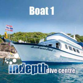 Phuket Dive Trip – Boat 1 – Indepth Dive Centre Phuket