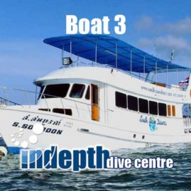 Phuket Day Trip Boat 3 is the best Phuket Day Trip Boat for diving the King Crusier Ship Wreck