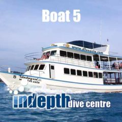Diving Day Trip – Boat 5 – Indepth Dive Centre Phuket
