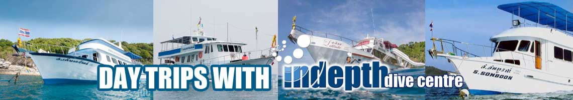 Phuket scuba diving day trips with Indepth Dive Centre 5* IDC & TecRec Centre