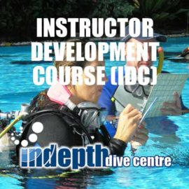 Join Chris and Indepth for one of the best PADI Instructor Course / IDCs available in Thailand
