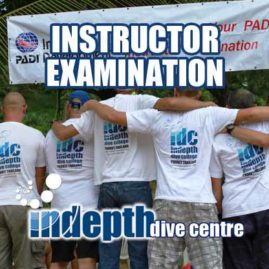 Join us for a PADI Instructor Examination with Indepth on Phuket Thailand