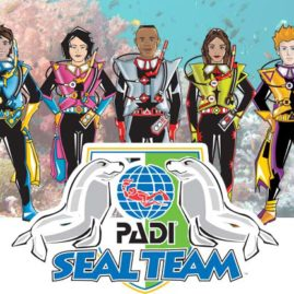 PADI Seal Team is the perfect to let your kids and children scuba dive on holiday on Phuket Thailand