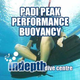 PADI Peak Performance Buoyancy Course with Indepth Phuket