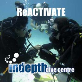 AWESOME time diving Poseidon Rebreather while taking ReActive PADI Scuba Refresher with Indepth Phuket