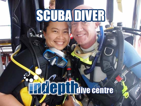 PADI Scuba Diver - Indepth Dive Centre Phuket - IDC Phuket