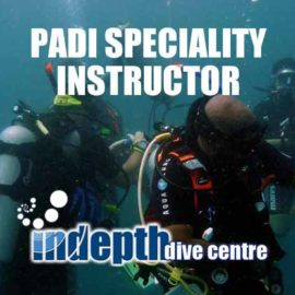 Take your PADI Specialty Instructor Courses with Chris and Indepth on Phuket Thailand