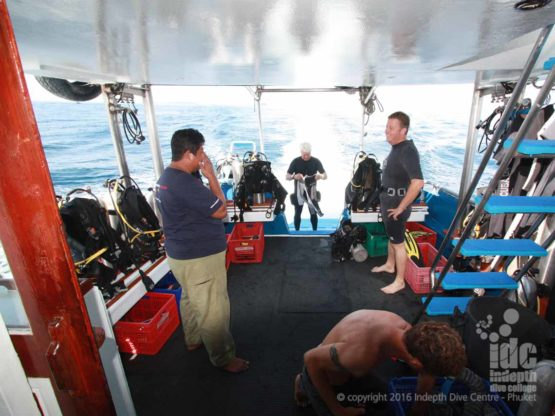 Indepth Dive Centre Phuket Scuba Diving Dive Boat 6