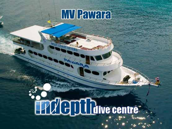 Join Indepth and Pawara Liveaboard for a Similan Islands, Surin Islands, Koh Bon, Koh Tachai and Richelieu Rock adventure
