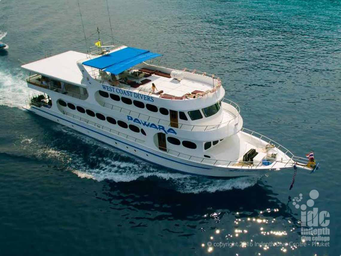Join Indepth and Pawara Liveaboard for some amazing adventures in The Similan and Islands, Koh Bon, Ko Tachai and Richelieu Rock