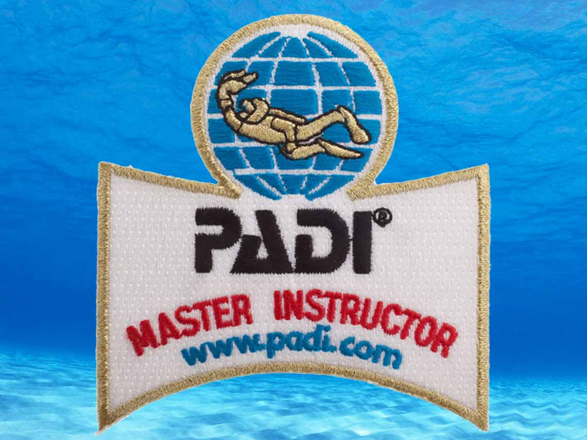 Become a PADI Master Instructor with Chris and Indepth Dive Centre on Phuket Thailand