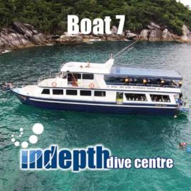 Join Indepth Dive Centre for a Phuket Scuba Diving Trip on Boat 7