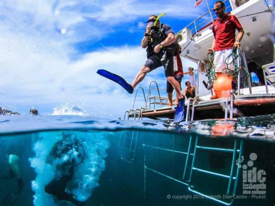 Enjoy the best Phuket Diving with Indepth Dive Centre