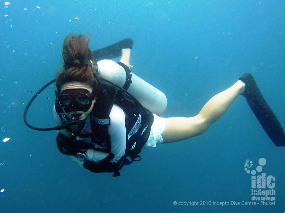 Join Indepth Dive Centre and go scuba diving at Ko Tachai Reef