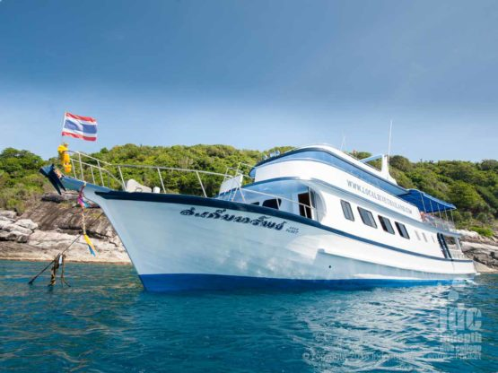 CONTACT Indepth Dive Centre to book you Phuket Dive Trip on Boat 1