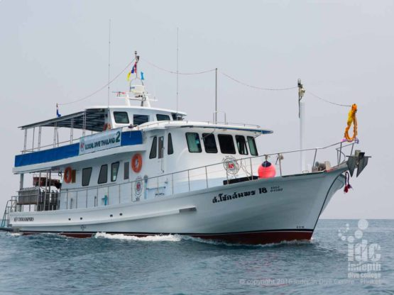 Indepth Dive Centre: Your Phuket Dive Tour scuba diving Boat 2