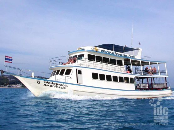 Indepth Dive Centre Scuba Diving Day Trip Boat 5