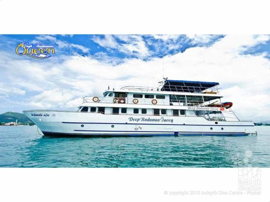 MV Deep Andaman Queen Liveaboard with Indepth Phuket