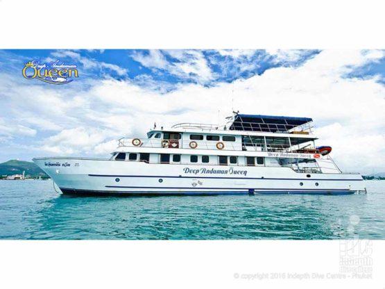 MV Deep Andaman Queen Liveaboard with Indepth Phuket