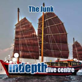 Indepth and The Junk Liveaboard a unique Liveaboard experience