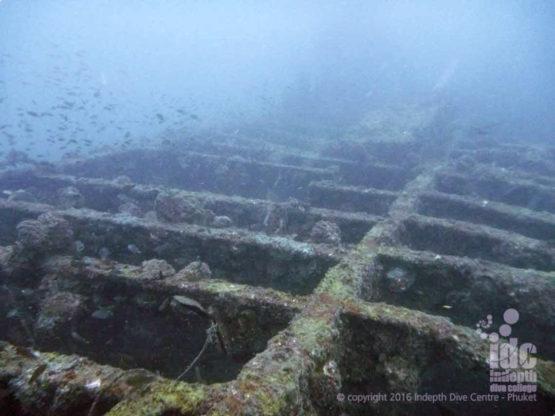 Wreck Diving Phuket King Cruiser