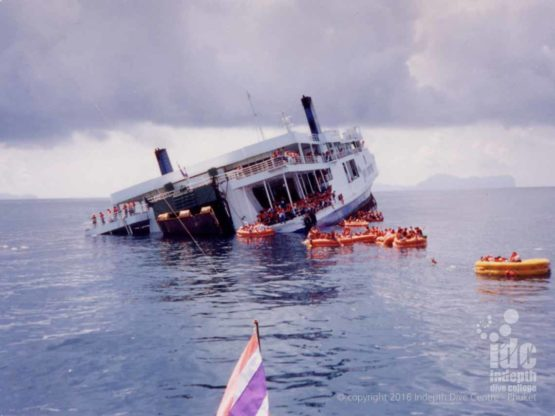 King Cruiser sinking in 1997
