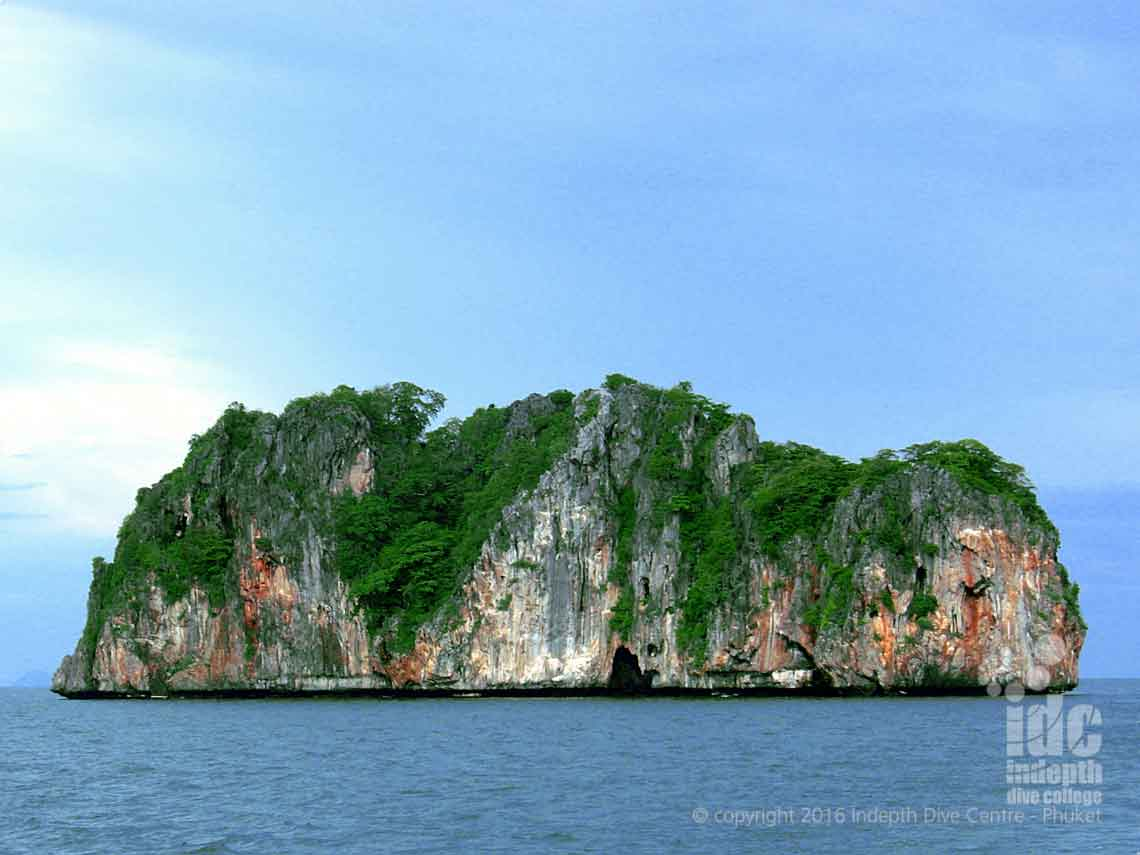 "Ko Doc Mai or ""Flower Island"" is one of the nearest Phuket Dive Sites"