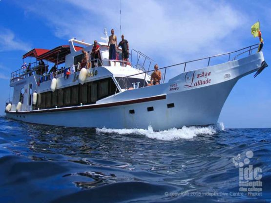 Phuket Diving with Indepth Dive Centre Day Trip Boat 4