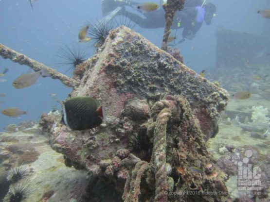 Winches on the King Crusier the best Phuket Wreck Diving