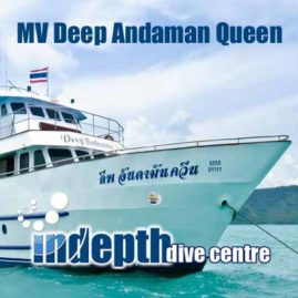MV Deep Andaman Queen Liveaboard – Indepth Dive Phuket