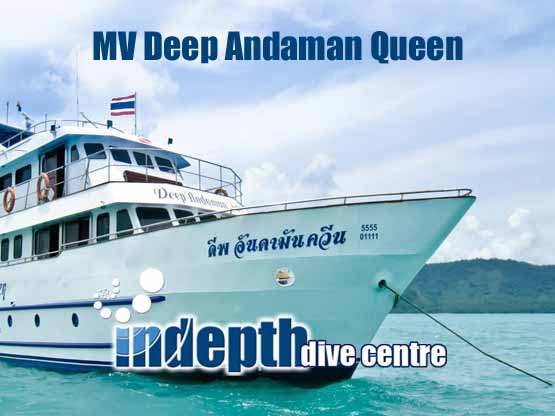 Join Indepth Phuket and Deep Andaman Queen Liveaboard to The Similans, Surini and Burma
