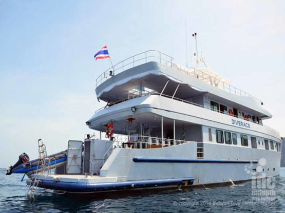 DiveRACE Liveaboard Class E luxury on the water