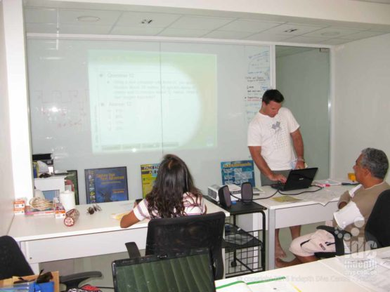 PADI Assistant Instructor Course classroom teaching presentations are always fun