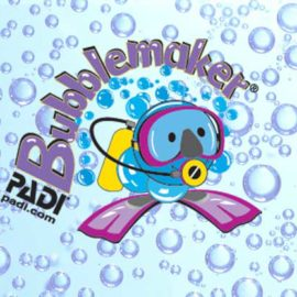PADI Bubblemaker program: the perfect option to let your children and kids try scuba diving