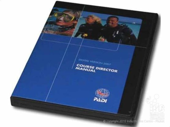 PADI Course Director Manual includes the Evaluation Training Videos needed for your IDC Staff Course