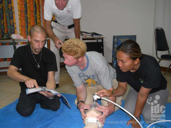 PADI Oxygen Instructor Course is a very valuable course to take