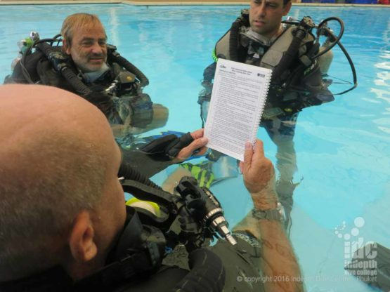 PADI Rebreather Instructor Course with Chris on Phuket